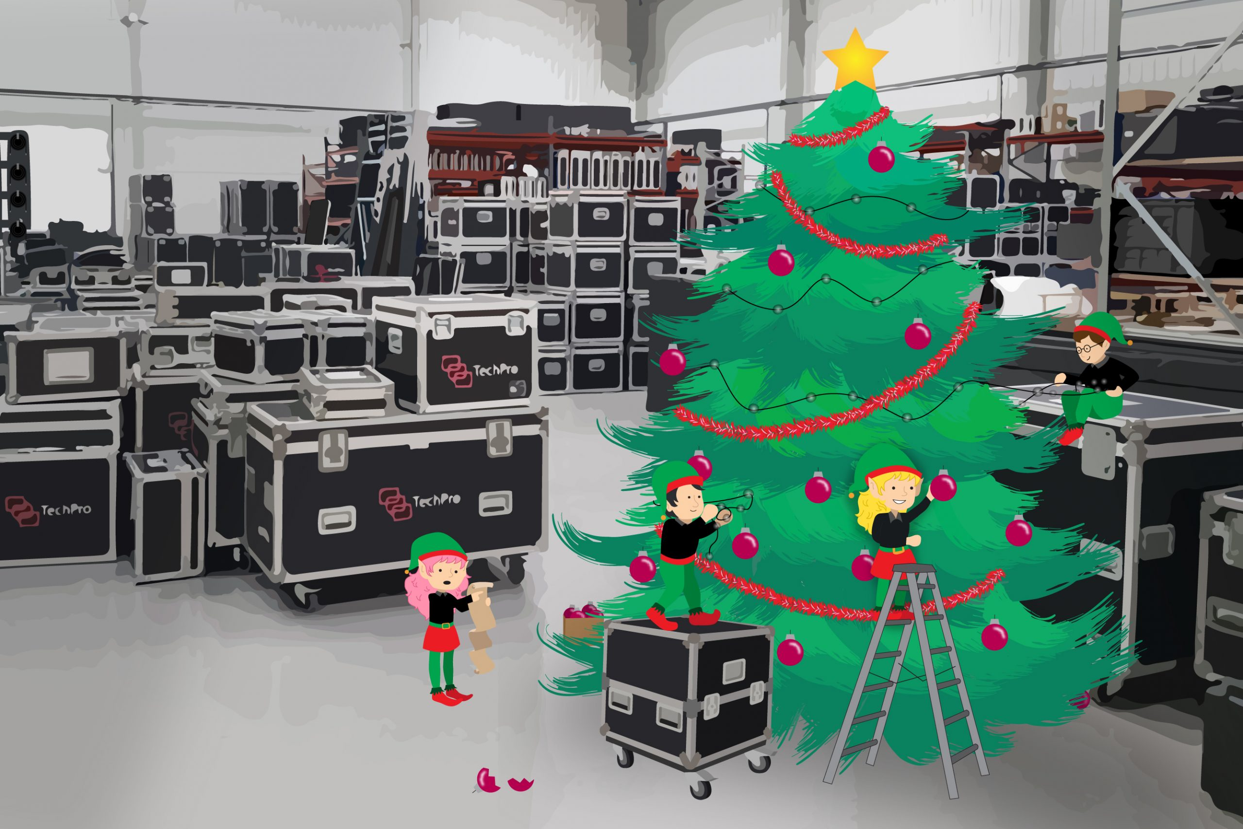 TechPro Christmas Warehouse 02