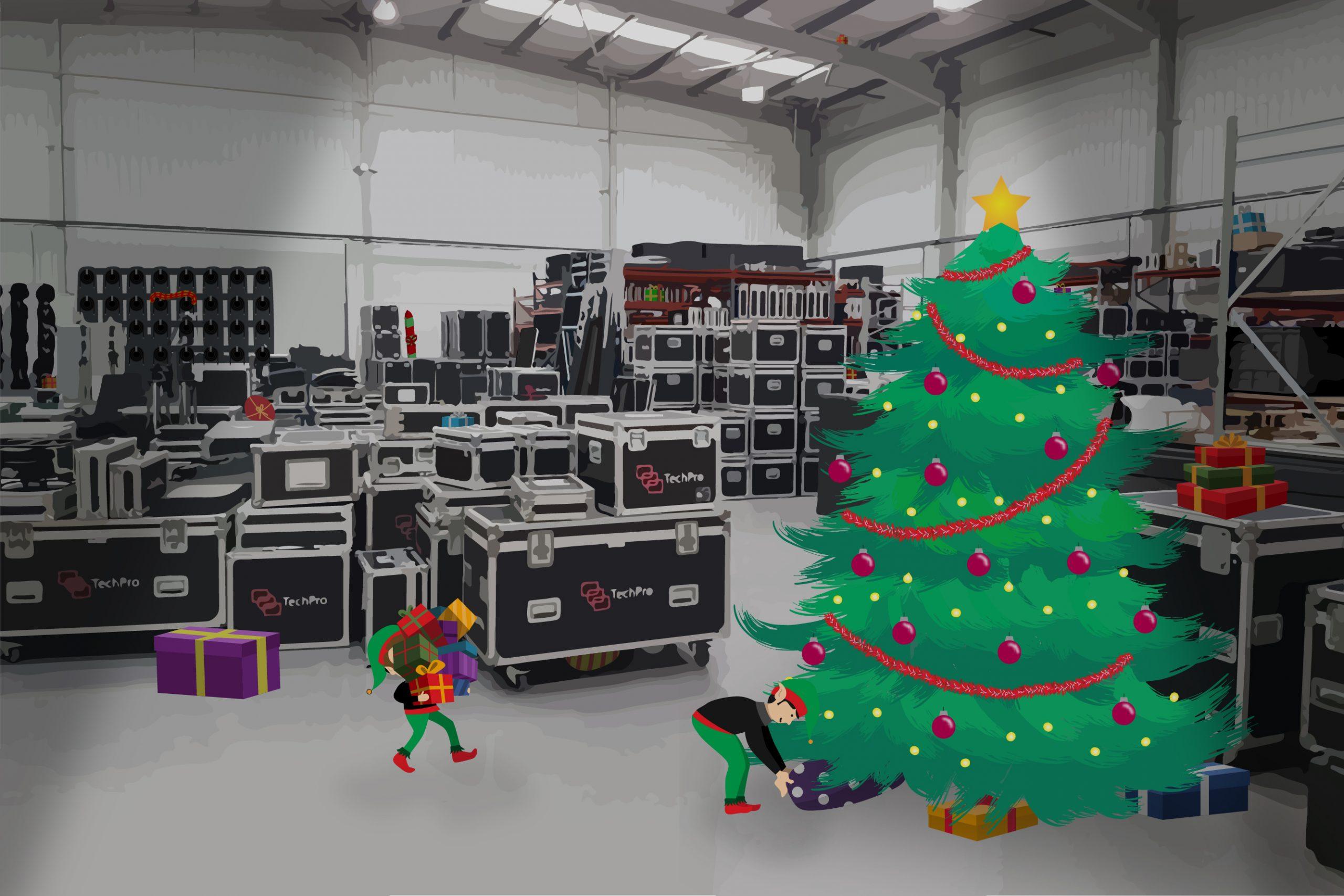 TechPro Christmas Warehouse 03